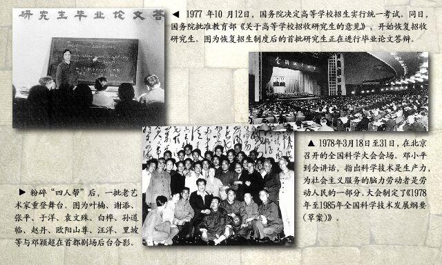 1977年:高校招生实行统一考试