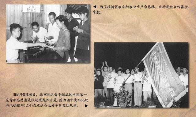 1955年:北京青年赴黑龙江垦荒