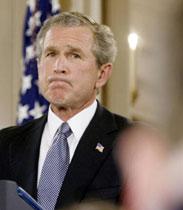 说错话的布什