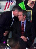 布什获知遭袭消息