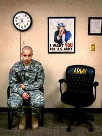 美国青年的军营生活