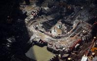 新世贸中心仍在建设中