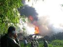 印尼军方运输机坠毁