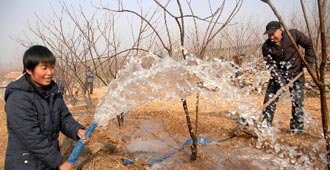 水利灌溉备不足