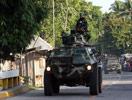 早前军人驶往马京达瑙省