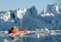 关注哥本哈根气候大会:北极冰川融化