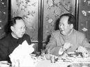 毛泽东与钱学森在一起